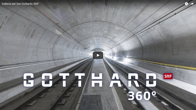 The Gotthard Tunnel 3D
