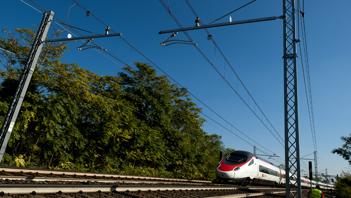 High-speed Padua-Mestre line