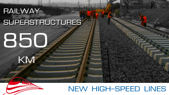 High-Speed line construction