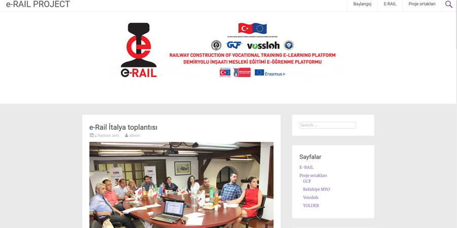 "GCF Hosts ""E-Rail"""