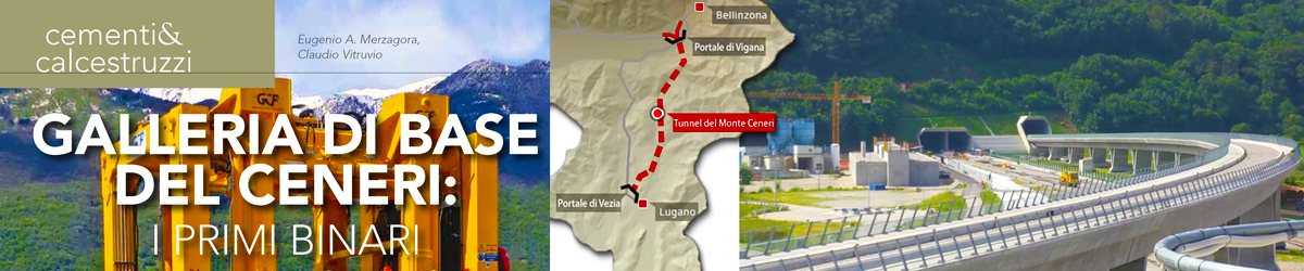 The Monte Ceneri Tunnel - an innovative worksite