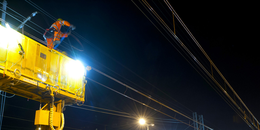 Overhead wiring doubled: client costs halved