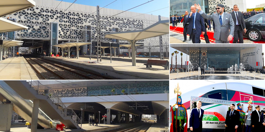 Rabat-Agdal: the station symbolising modernity