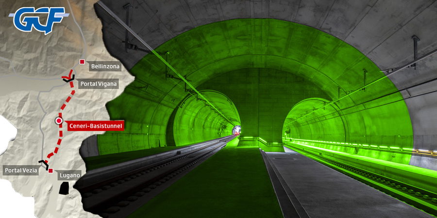 Ceneri tunnel is now a reality
