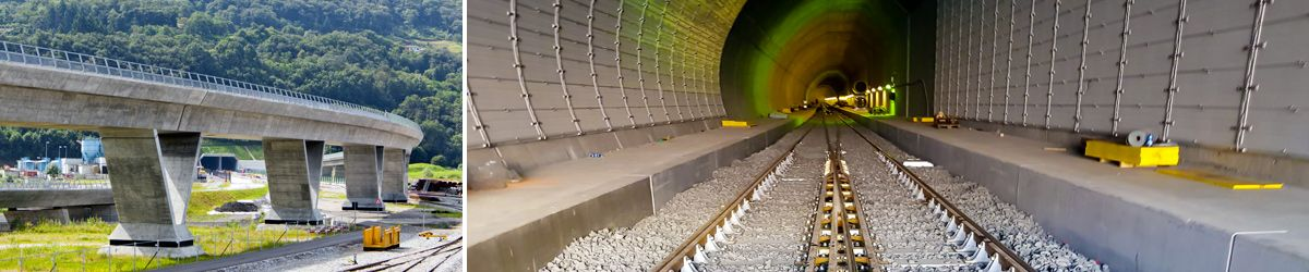 Monte Ceneri Tunnel: the first of the two bores has been delivered.